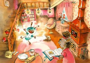 Кот и мурлик. Короткая зима